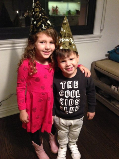 Ellie and Mason Wis you a Happy New Year